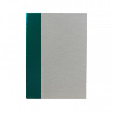 Libro ospiti Pino in mezza pelle verde e carta pergamena antichizzata - Conti Borbone