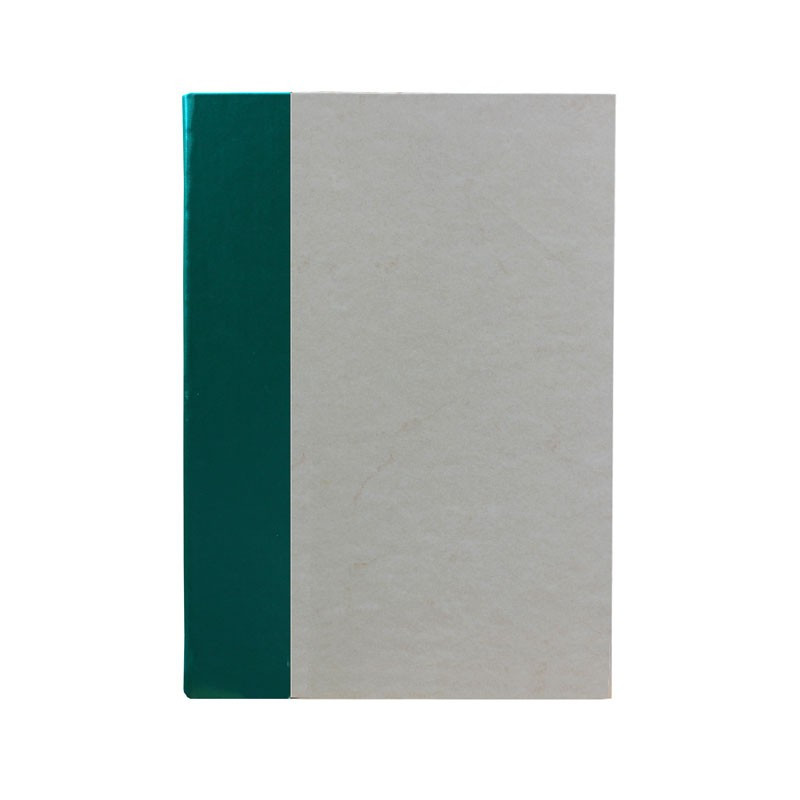 Pino guest book in green leather and antique parchment paper - Conti Borbone