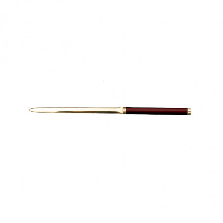 Ruby Leather knife - Conti Borbone - Paper knife in burgundy calf leather
