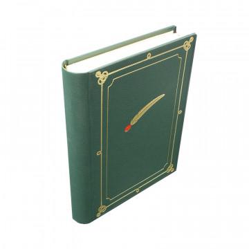Alpine photo album gathering green leatherette Alpine pen - Conti Borbone - for your alpine gathering profile