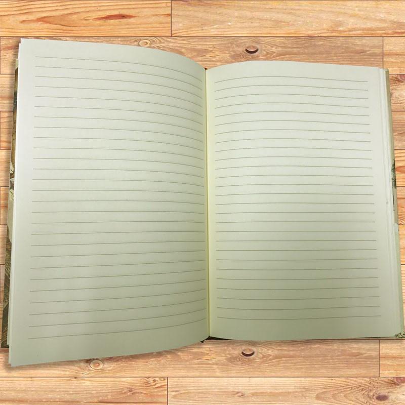 Interno quaderno avorio 144 pagine con righe